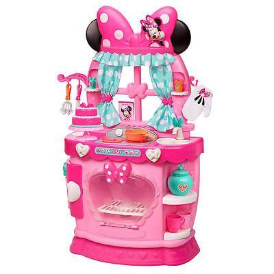 Disney Junior Minnie Sweet Surprises Kitchen Playset Pink