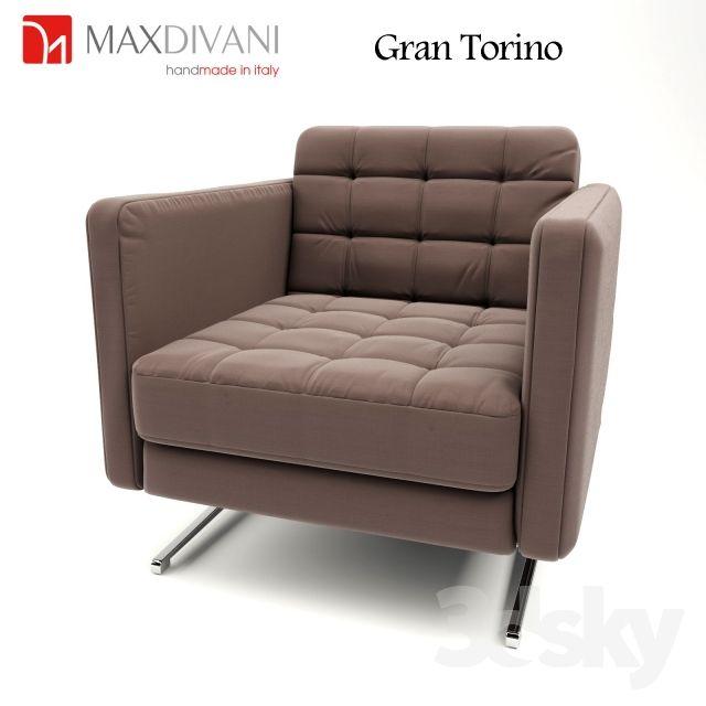 MAX DIVANI Gran Torino | 3D - FURNITURE | Pinterest | Max divani ...