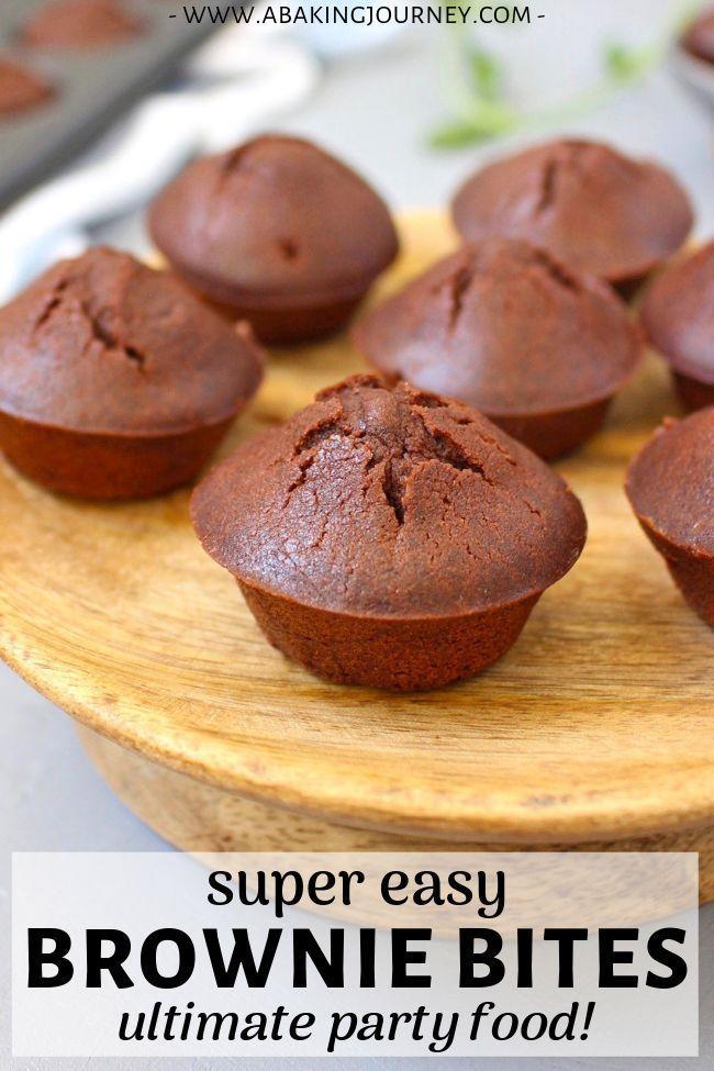 Easy Chocolate Brownie Bites Recipe Bite Size Desserts