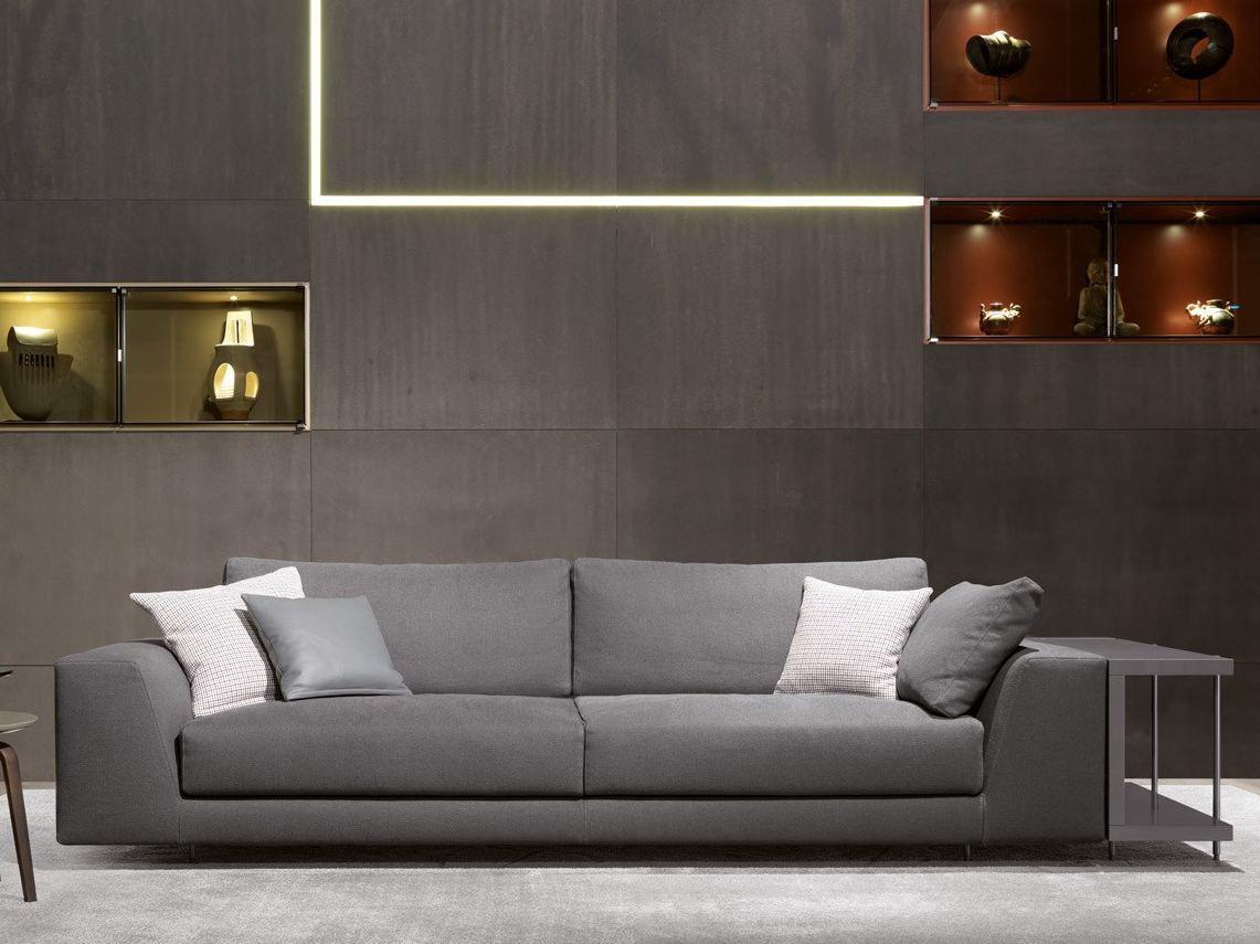 ARGO Sofá de tela by MisuraEmme diseño Mauro Lipparini