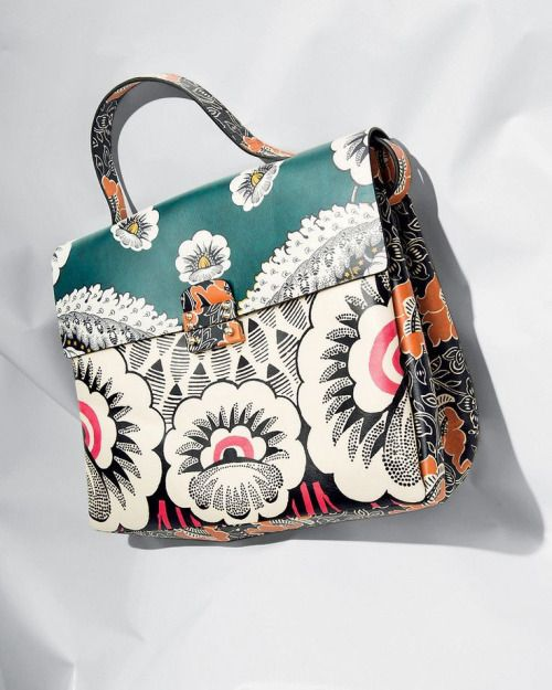 Obsessed with this Floral Handbag by Valentino Garavan