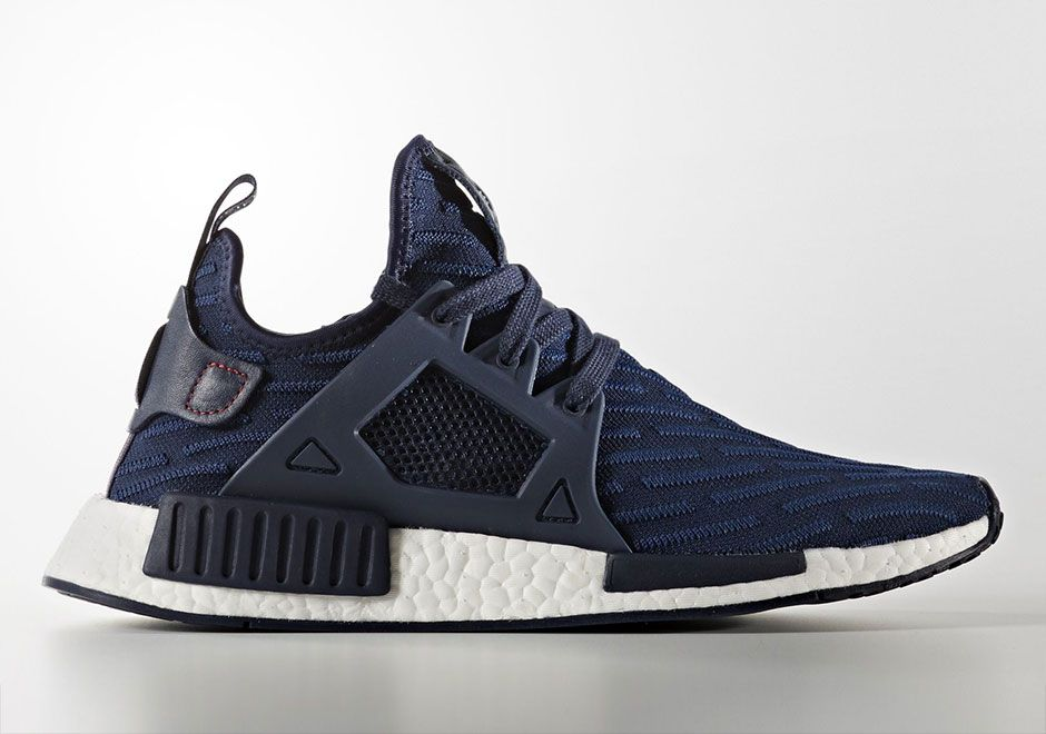 best value 625f0 b4e83 adidas NMD XR1 Blue Striped Primeknit | What's Crackin ...