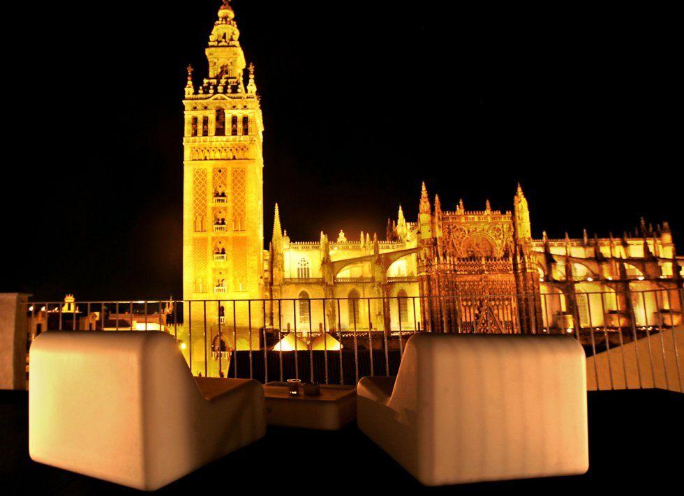 La Terraza De Eme Catedral Hotel En Sevilla Hotel Sevilla Sevilla Hoteles De Lujo