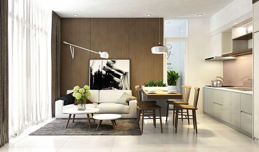Arredamento per open space moderno 19 | Arredare living ...