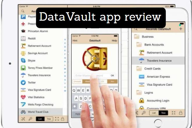 DataVault Password Manager App Review