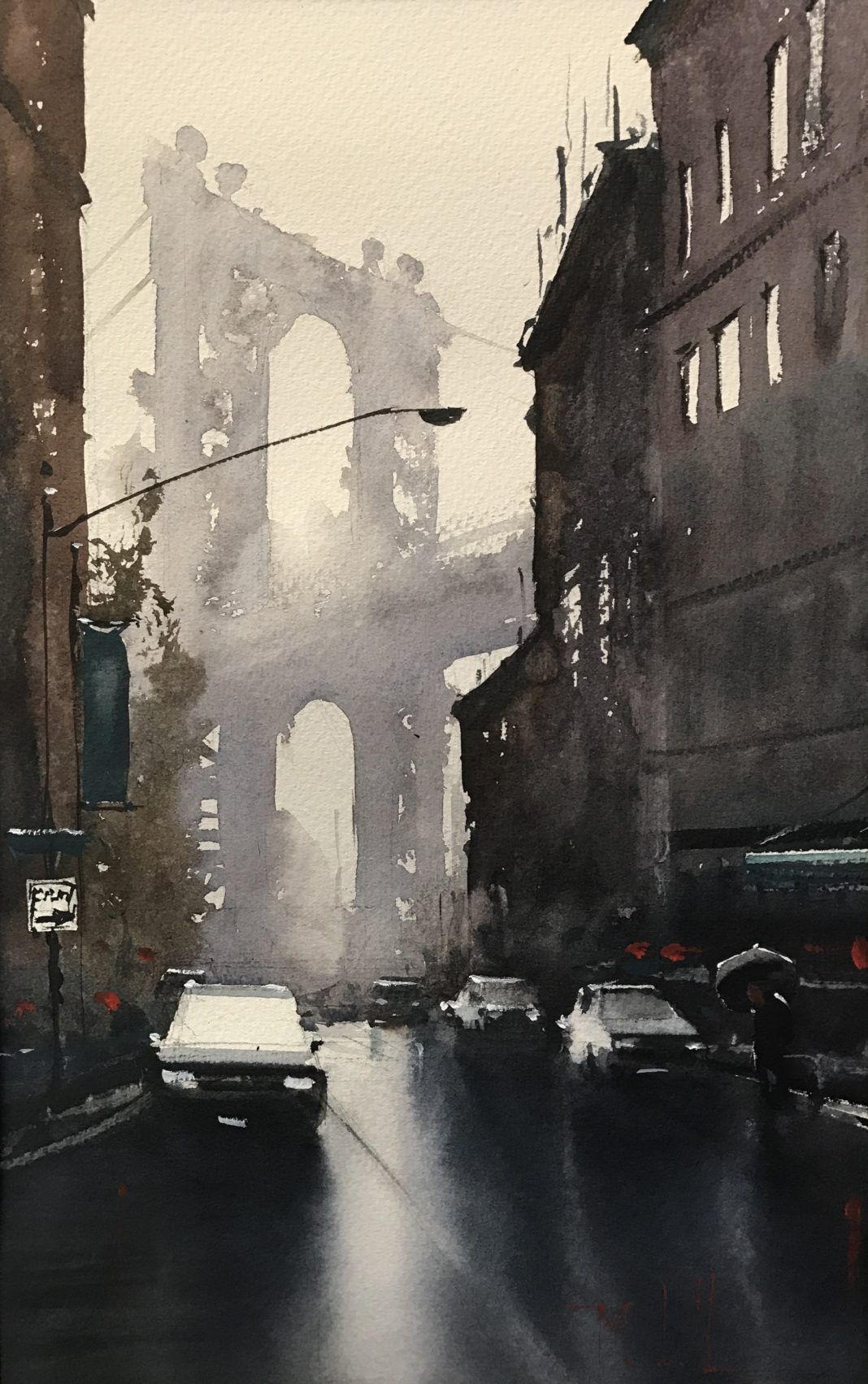 How Watercolor Can Make You Lose Friends Art De Paysage Urbain