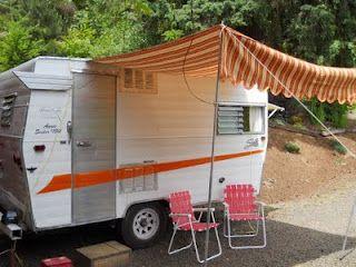 Camper Awning Instructions Sewing Pinterest Camper Vintage