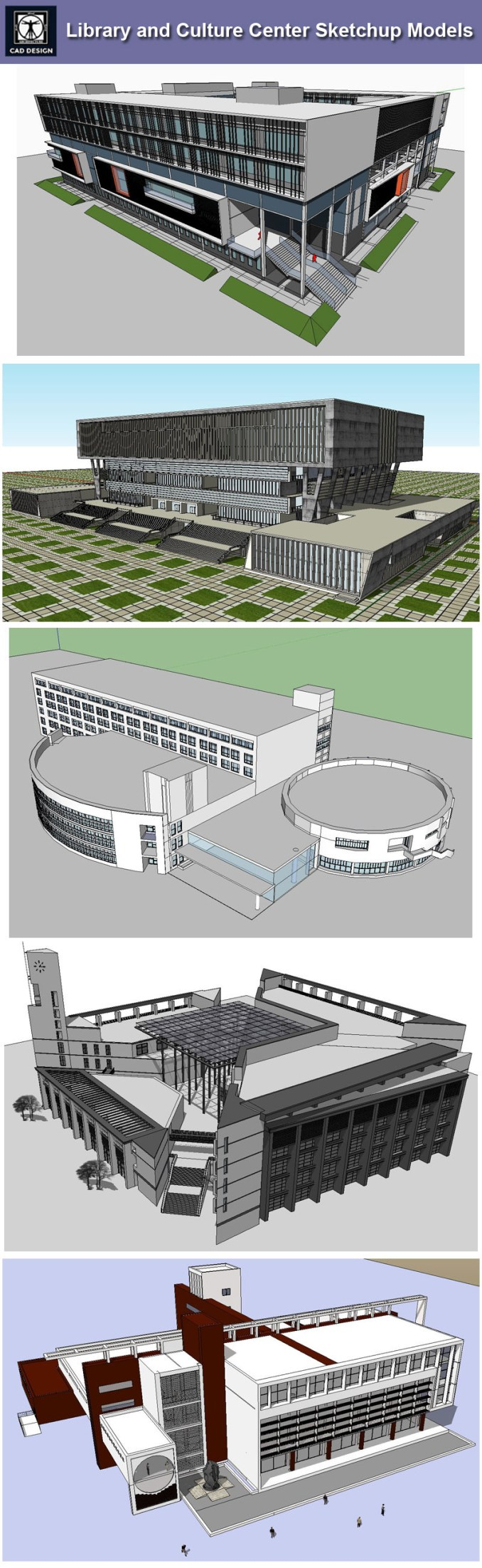 Download 15 Library Sketchup 3d Models Recommanded Autocad