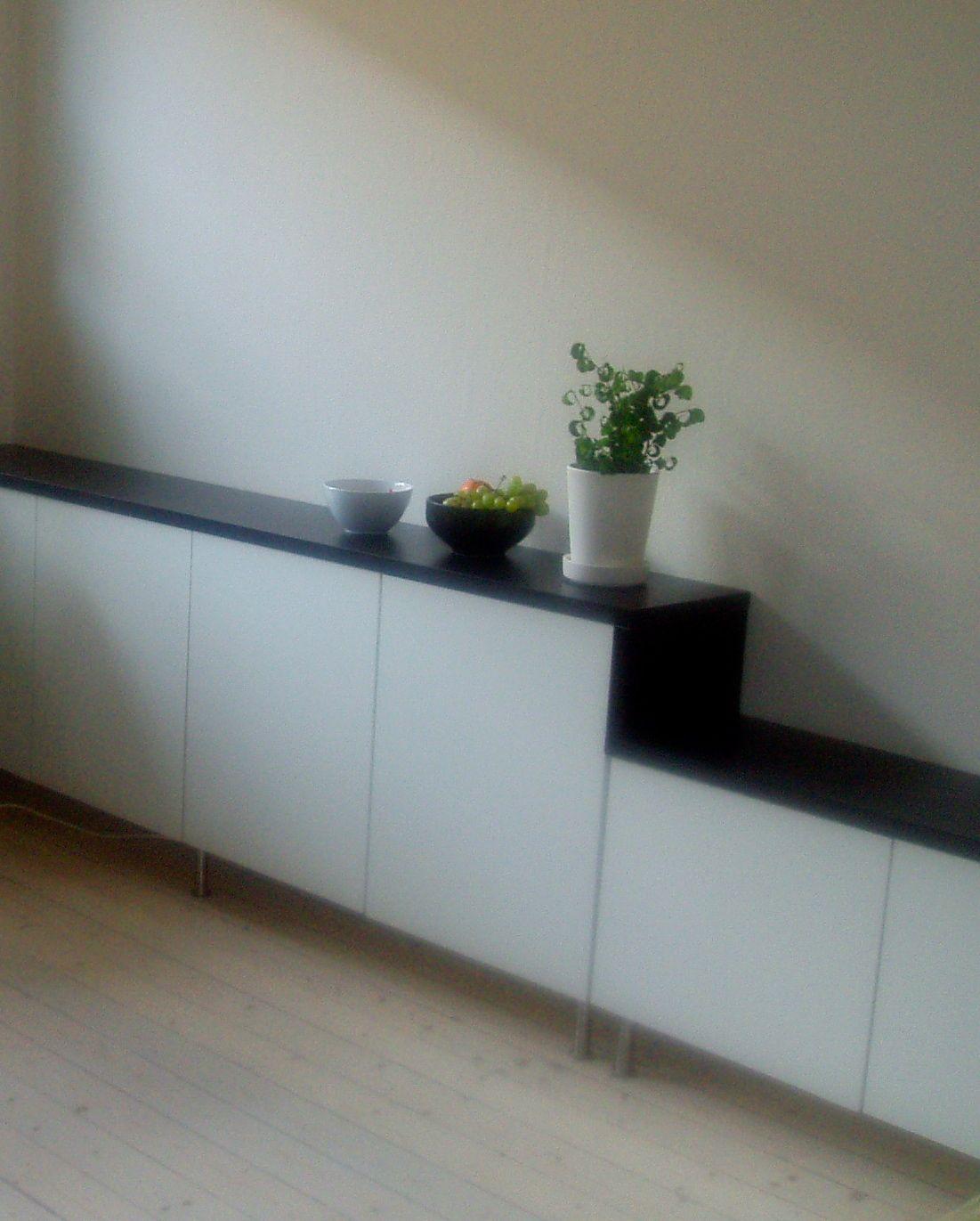 Billy Sideboard | Ikea hackers, Door shelves and Kitchen cabinet doors