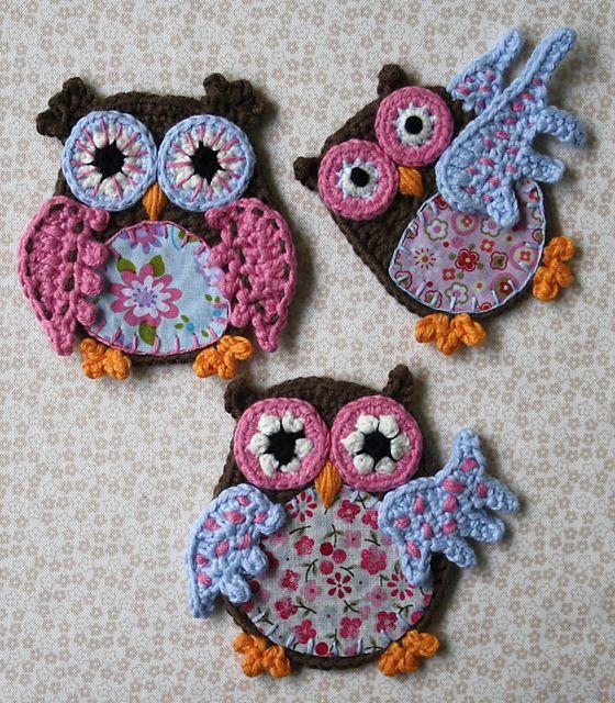 Owl Applique Pattern By Carocreated Design Pinterest Appliques