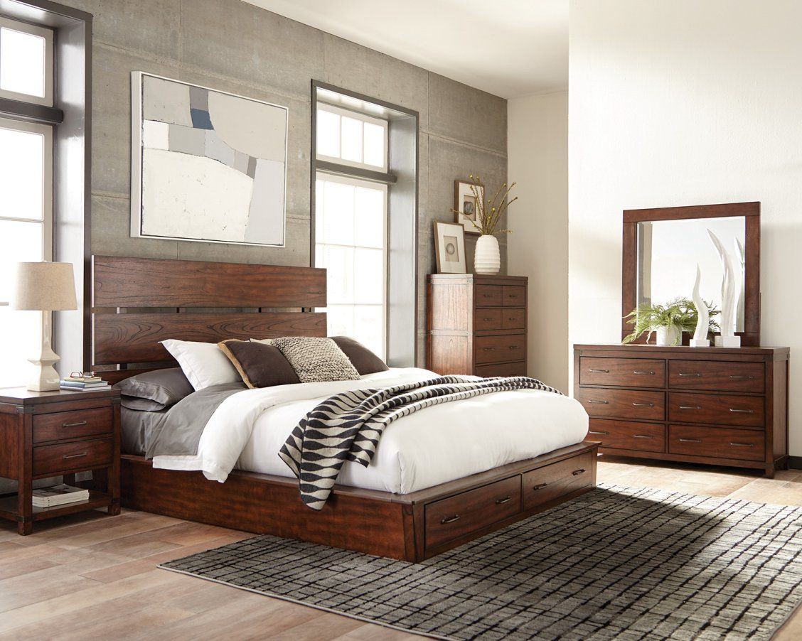 The Scott Brothers designed the bedroom furniture of our