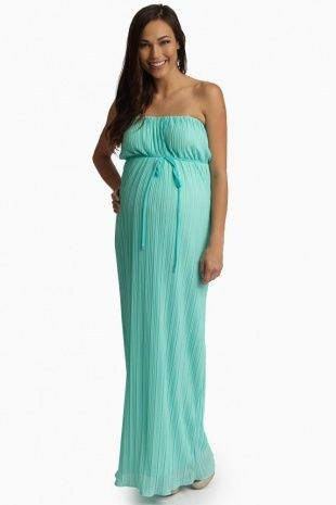 Bandeau Maternity Dress | Dresses and Gowns Ideas | Pinterest ...