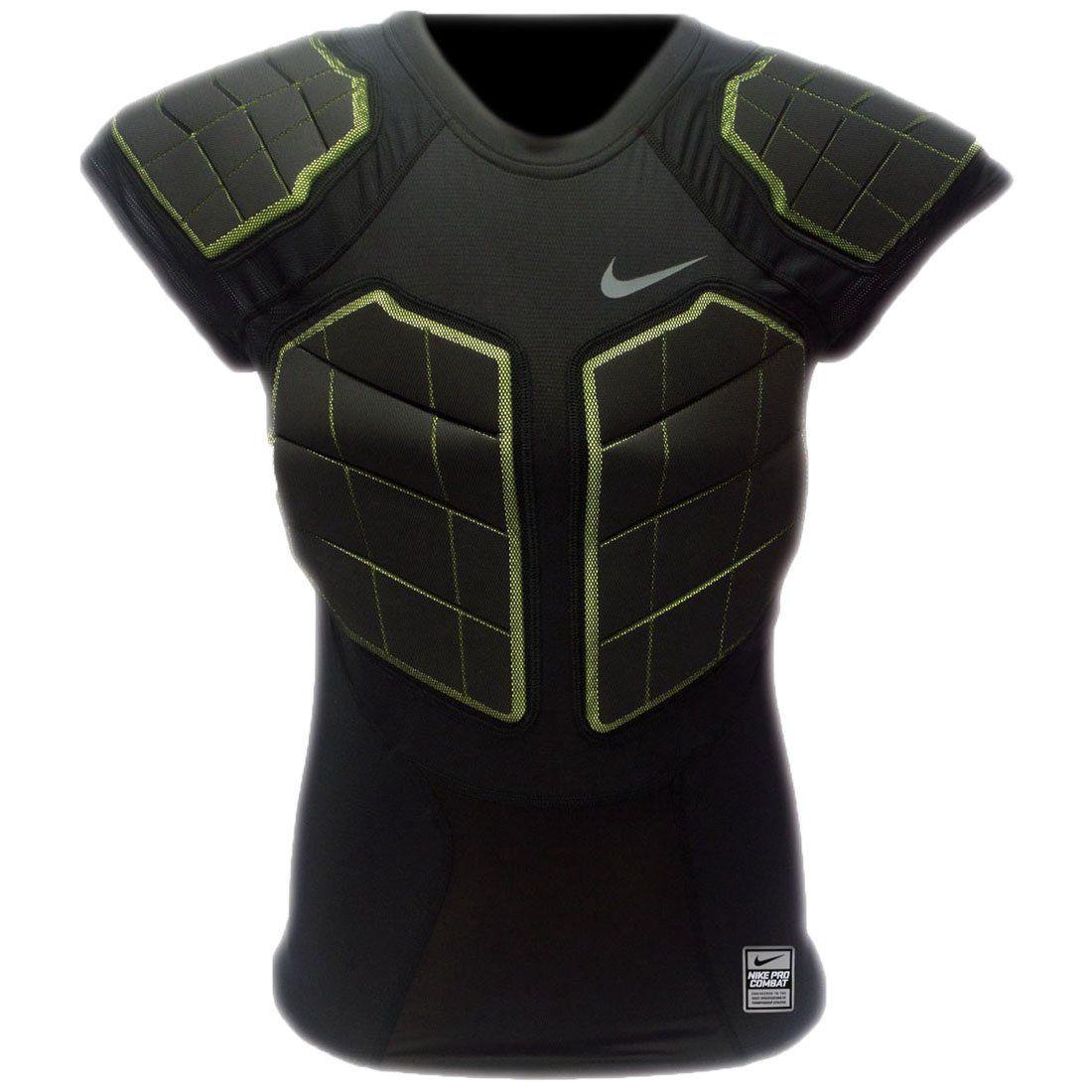 Nike Pro Combat Hyperstrong Men S 4 Pad Compression Shirt Padded Compression Shirt Athletic Apparel Mens Athletic Wear [ 1100 x 1100 Pixel ]