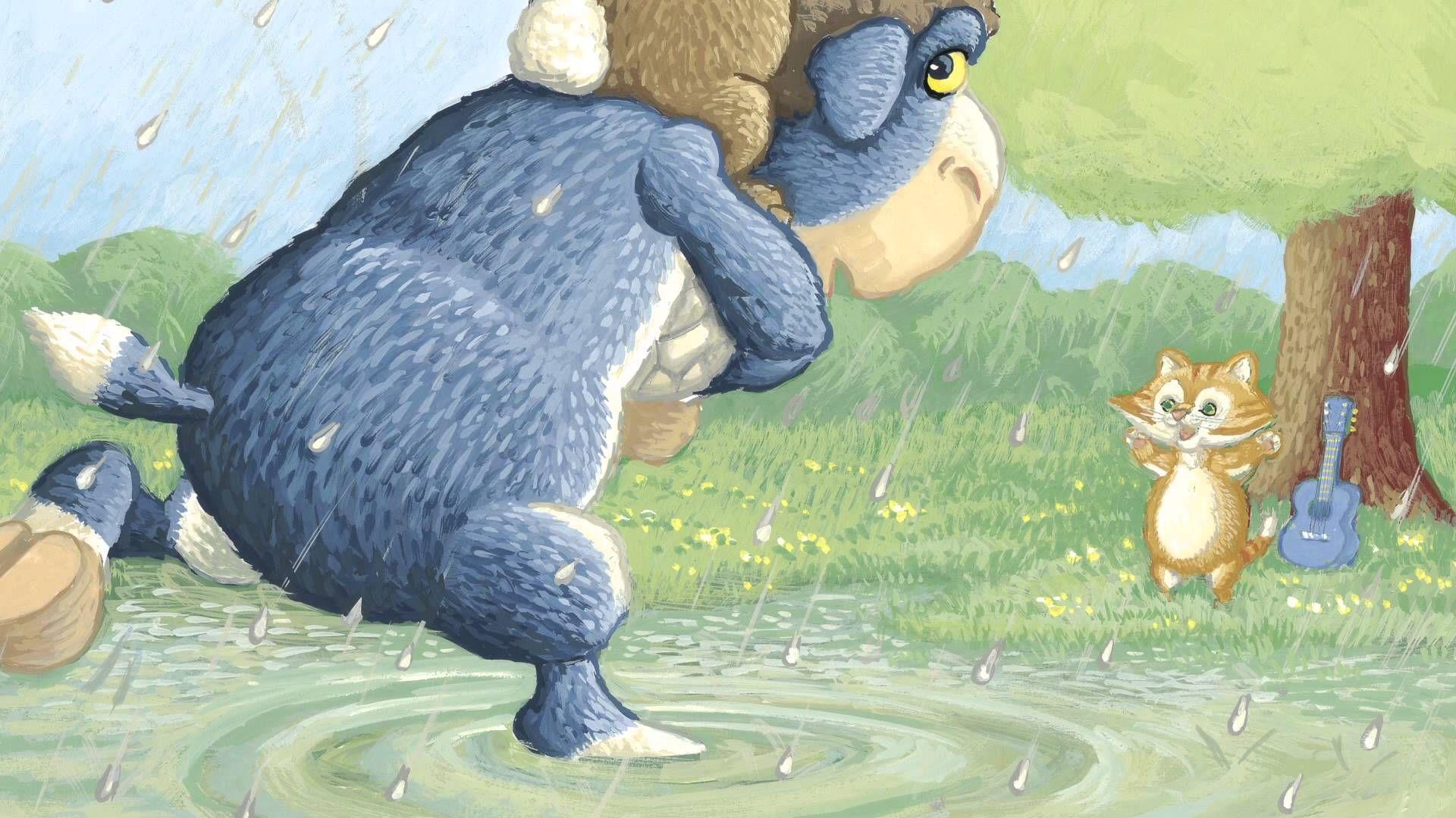 Jez Alborough Reads Hugo The Hare S Rainy Day