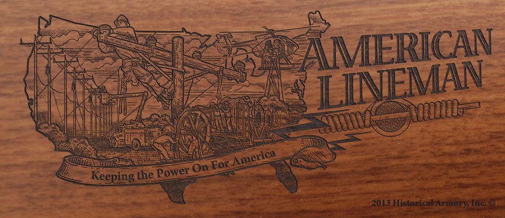 American lineman rifle