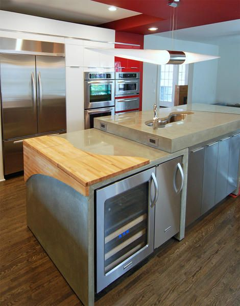 Contemporary Kitchen Island By Freee Llc