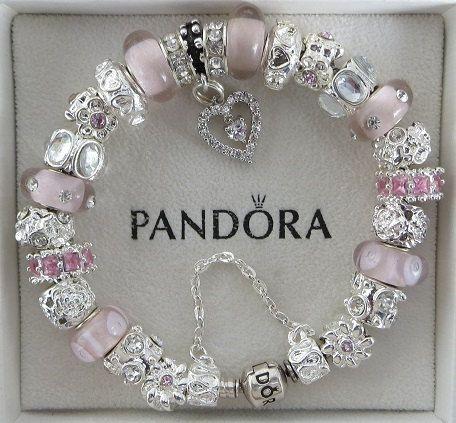 Authentic Pandora Bracelet with European Beads by ExquisiteAellas ...