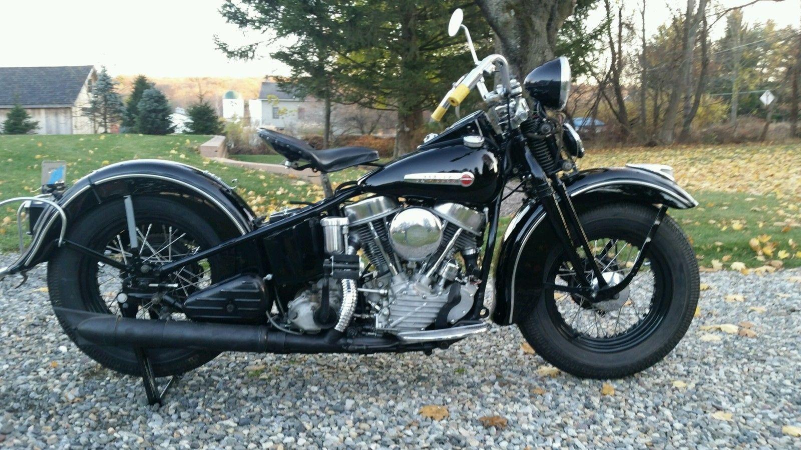 1948 Harley Davidson El Panhead Harley Panhead Harley Harley Davidson