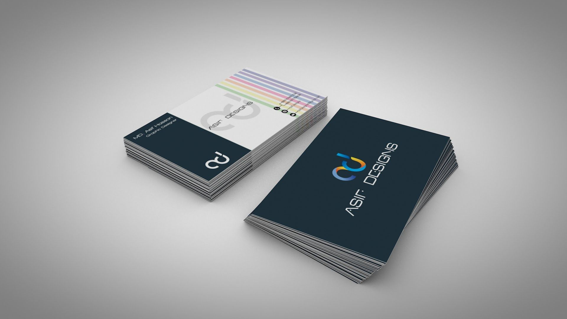 How to make Business Card mockup in c4d | tutorial Cinema 4d ...