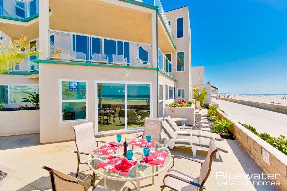 """Rockaway Ocean Front I"" 3 bedroom, 2 bath, San Diego"