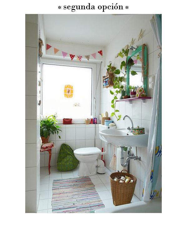 Decorar un ba o antiguo ana pla interiorismo y - Como decorar un bano blanco ...