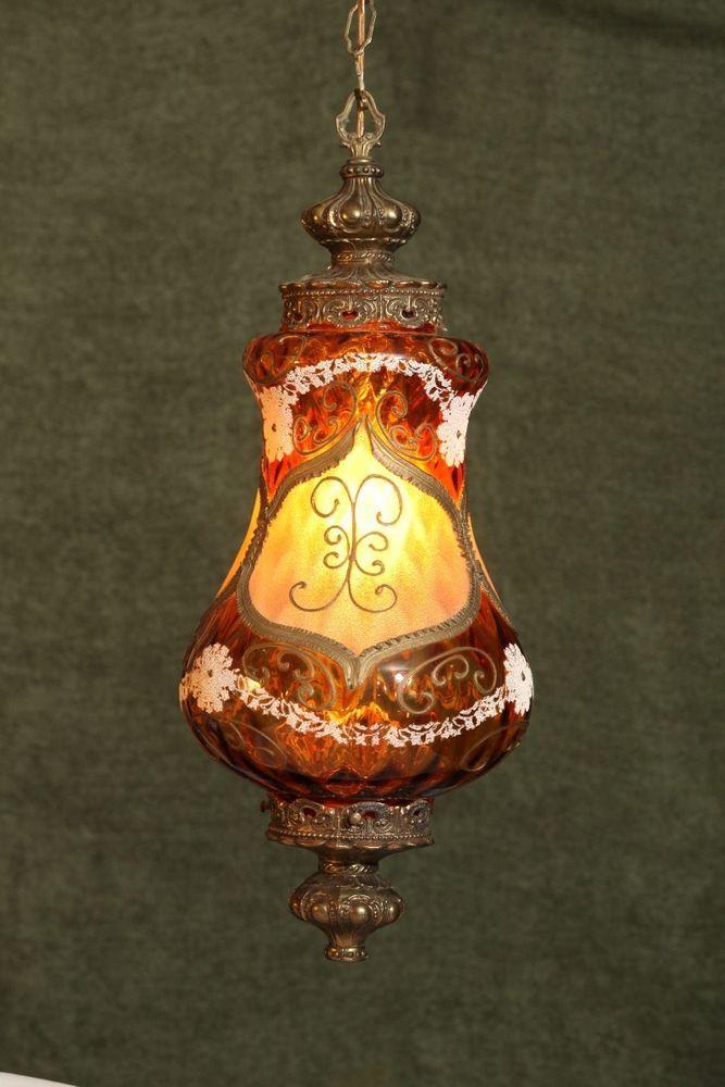 Vintage loevsky loevsky chandelier ll wmc hanging amber glass vintage loevsky loevsky chandelier ll wmc hanging amber glass lighting aloadofball Images