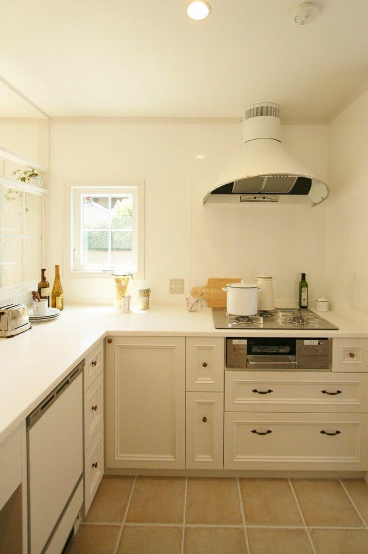 使い勝手のいいおしゃれなキッチン キッチン おしゃれ システムキッチン 造作キッチン