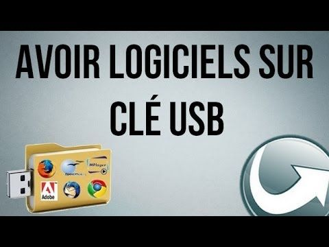 tuto comment installer des logiciels sur sa cl usb youtube astuces computer tablette. Black Bedroom Furniture Sets. Home Design Ideas