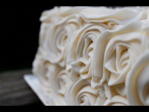 buttercream de merengue suizo - YouTube
