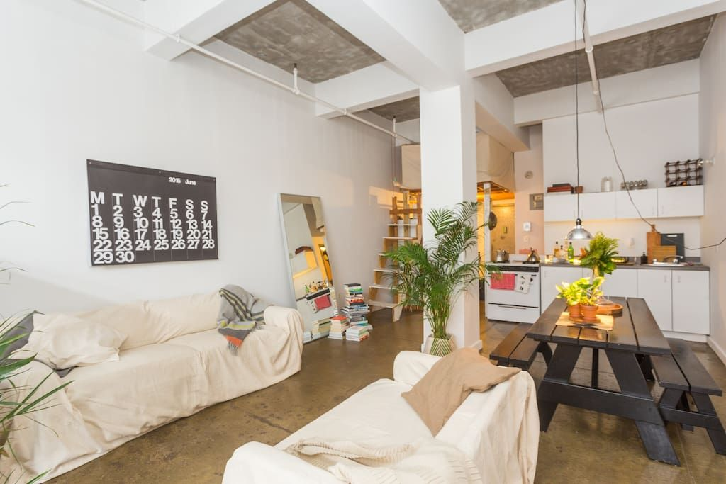 Warehouse loft apartment with rooftop - Lofts for Rent in