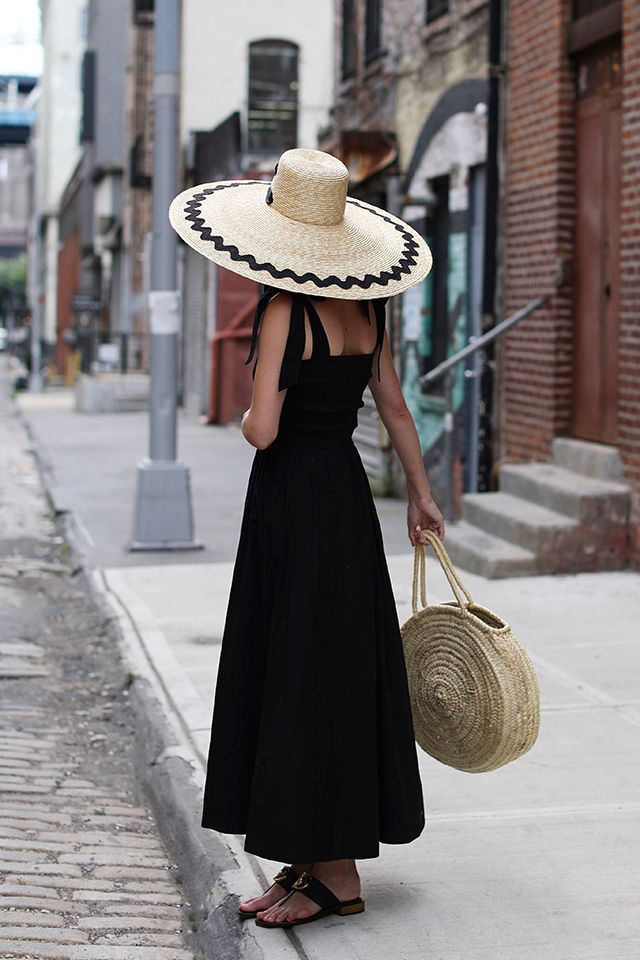 SUMMER BAGS + SUMMER HATS // SEEING STRAW | Atlantic-Pacific