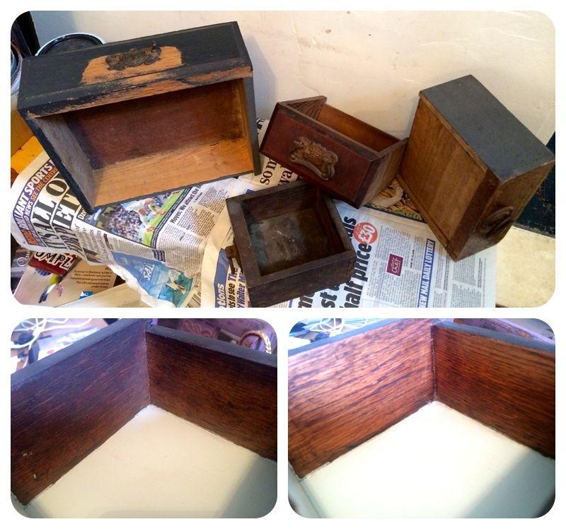 vintage drawers shelfs - Google Search