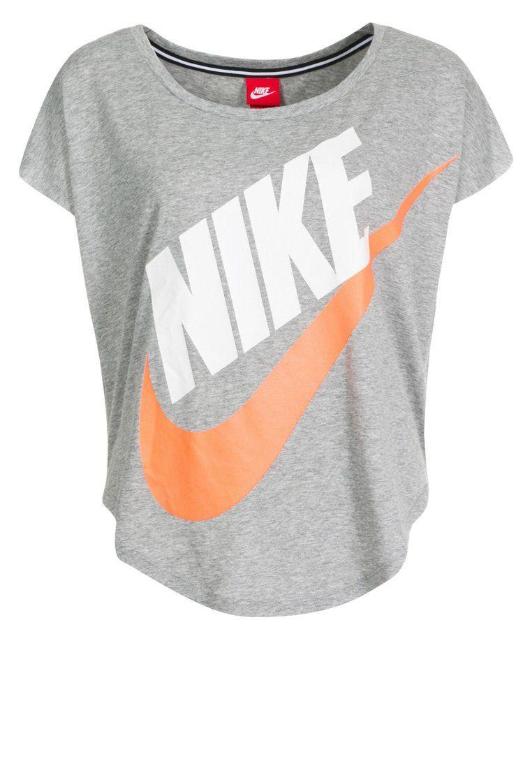 Mujer SurzalandogrisRopa Sportswear Tshirt Deportiva Nike lFK1cTJ