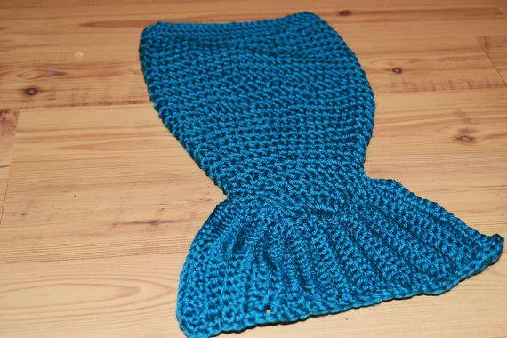 Newborn Crochet Mermaid Tail Mermaid cocoon by CrazyCraftHeaven, $25.00