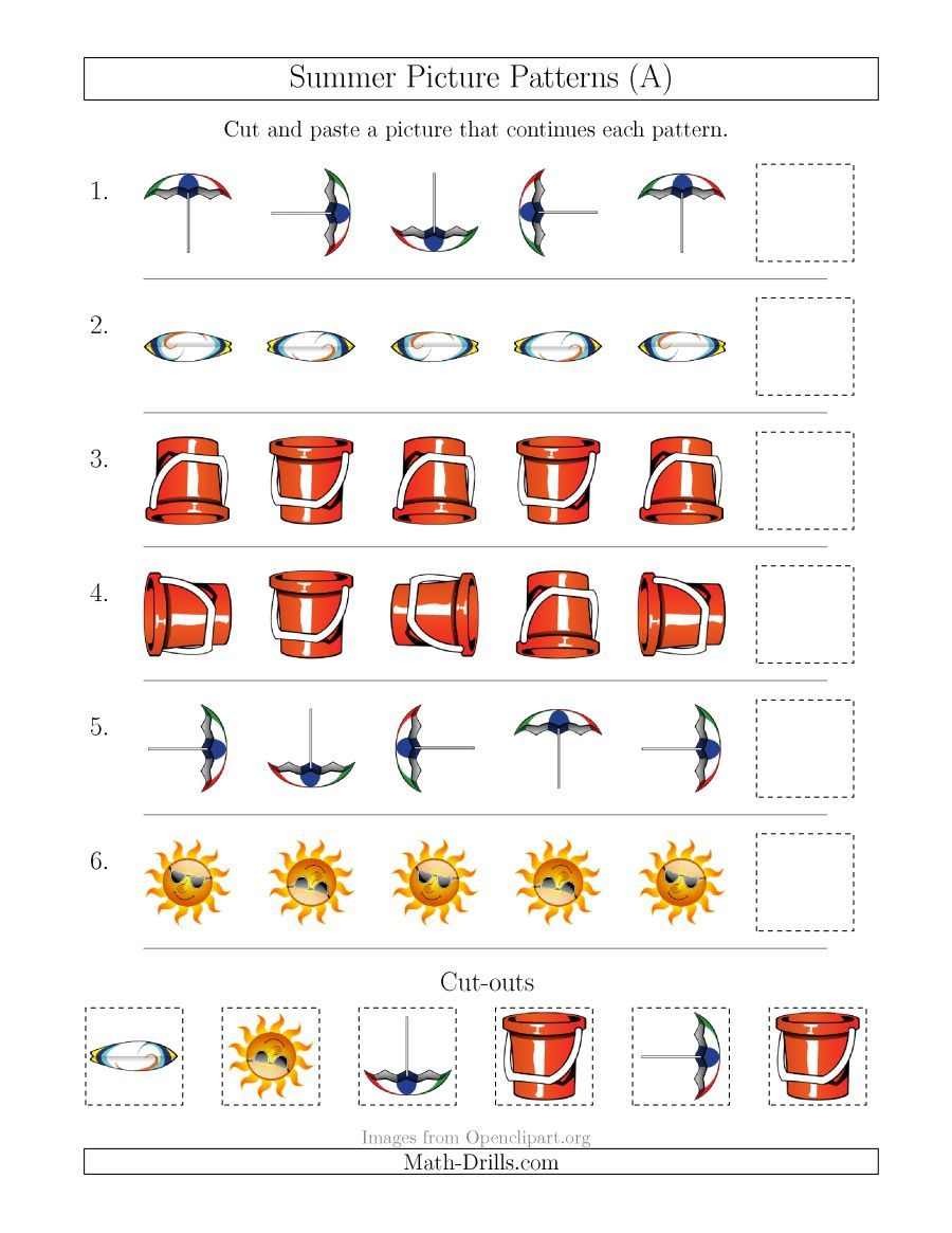 The Summer Picture Patterns With Rotation Attribute Only A Math