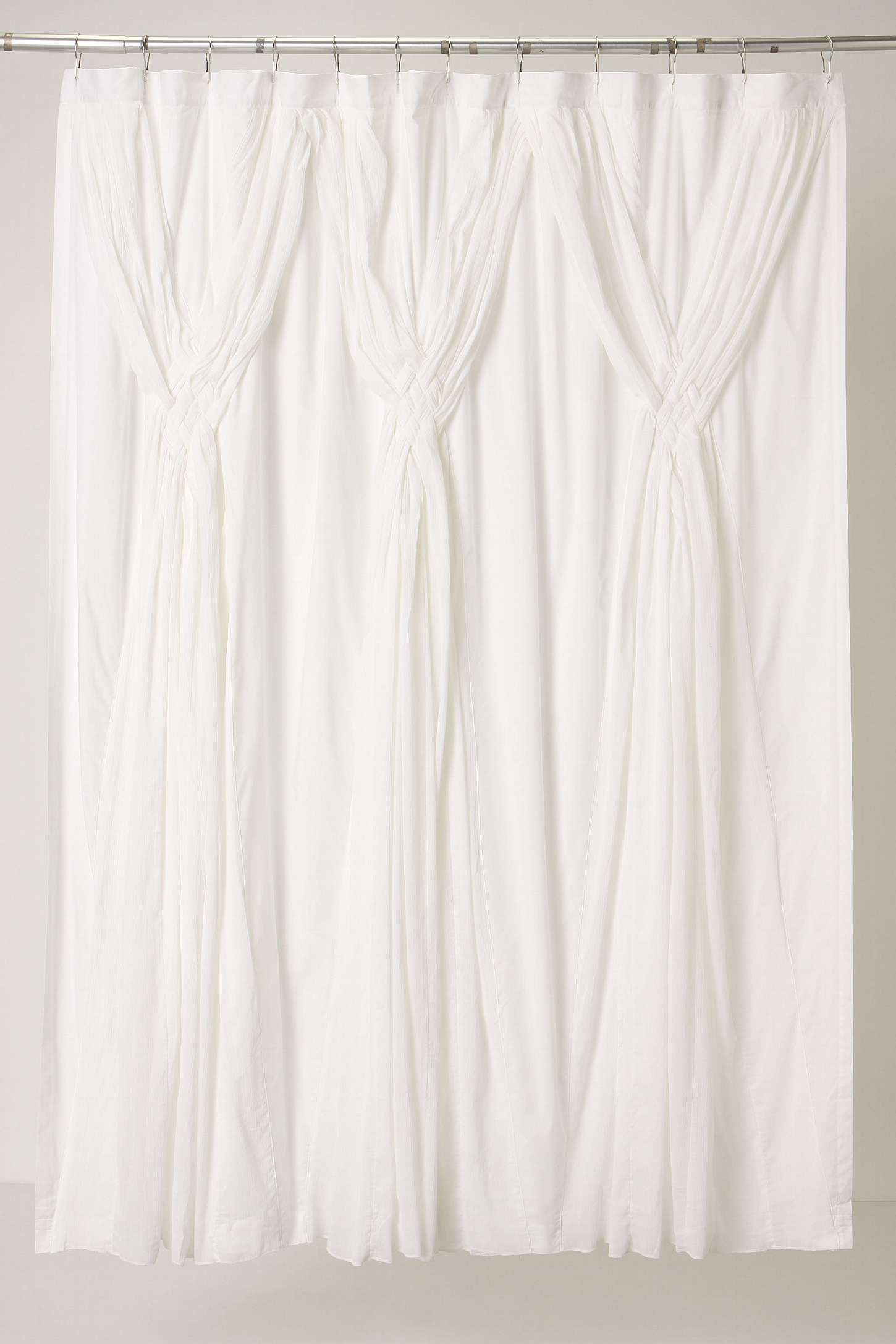 Knotted Vines Shower Curtain A Touch Of Elegance For The Bath