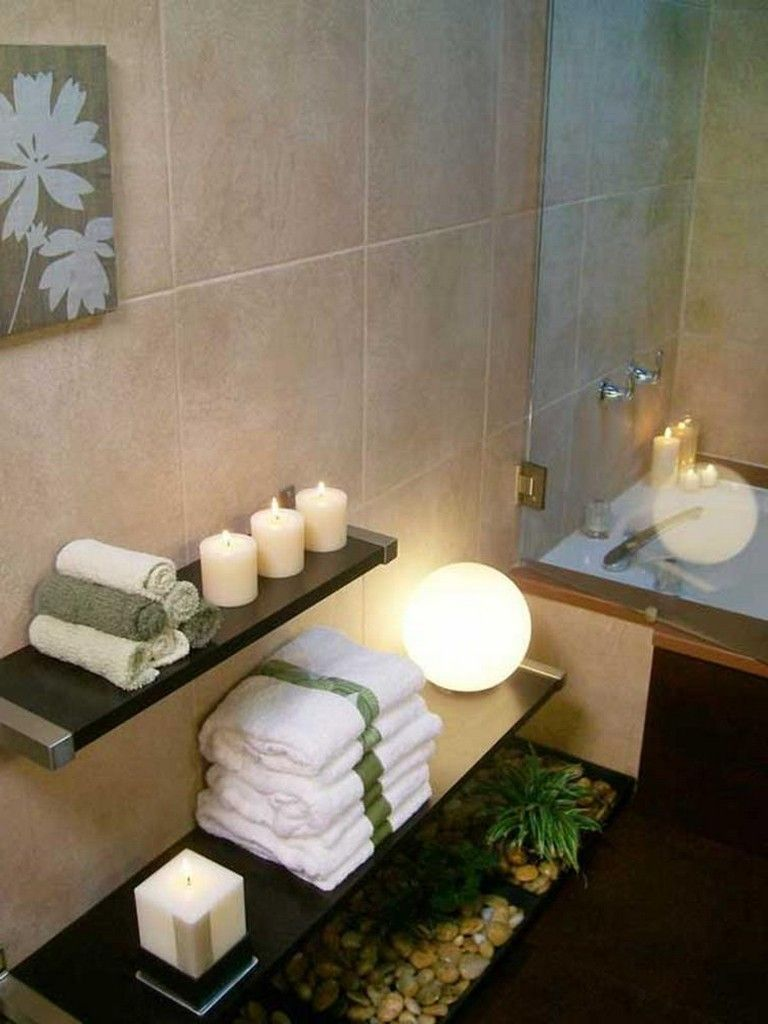Spa Style Bathroom Decorating Ideas