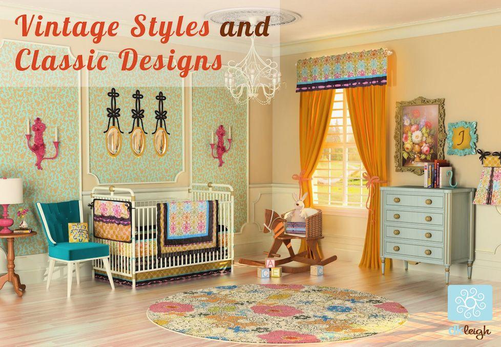 Vintage floral design, girls nursery by Dkleigh (With ...