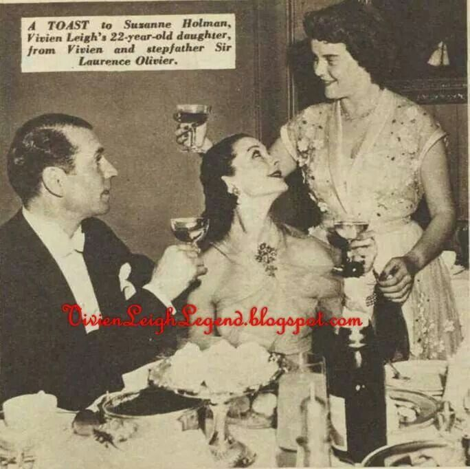 Larry, Vivien and her daughter Suzanne.