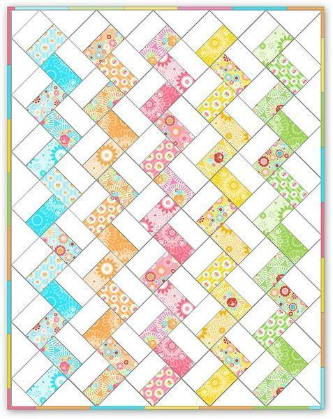 Free Jelly Roll Quilt Patterns U Create Quilts And Crafts