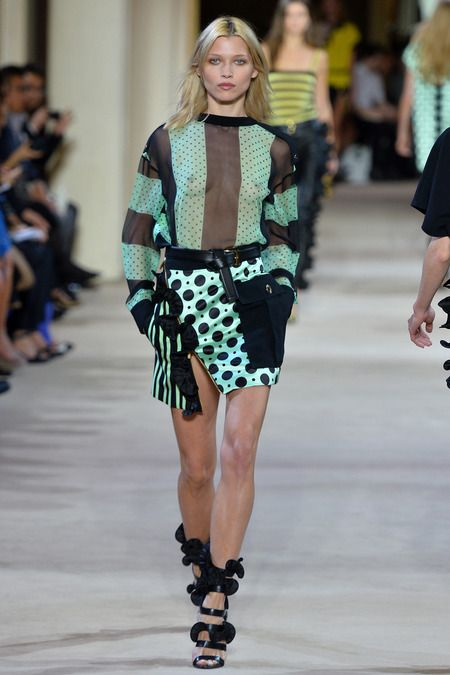 Emanuel Ungaro Spring 2014 Ready-to-Wear Collection