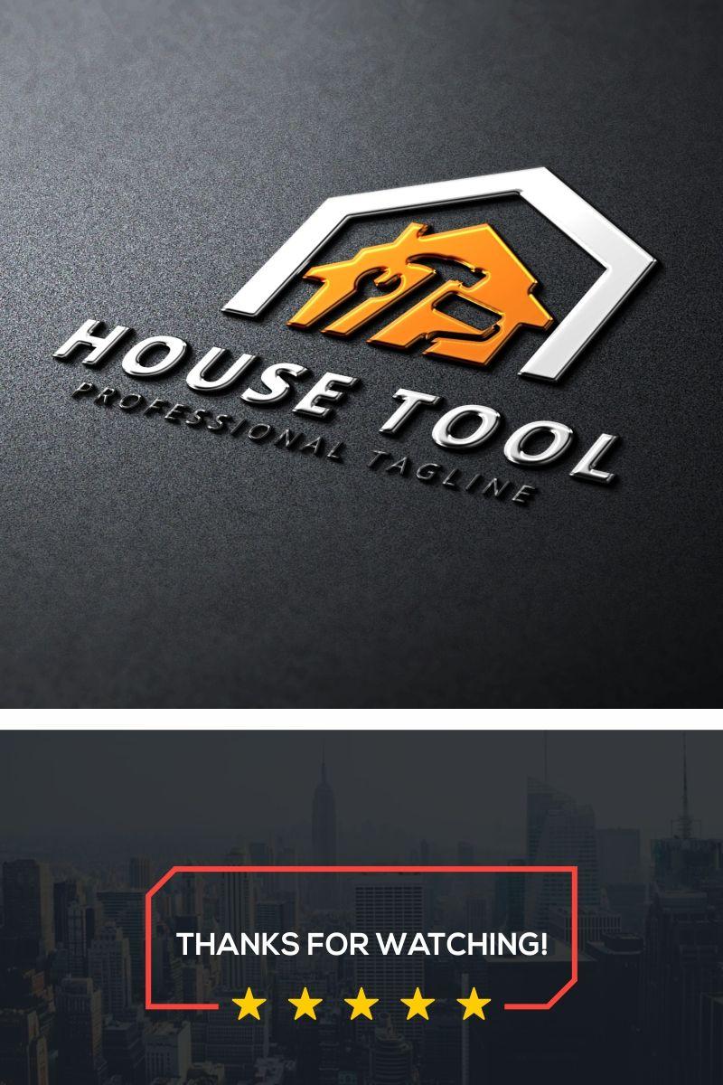 House Tool Logo Template Construction Logo Construction Logo