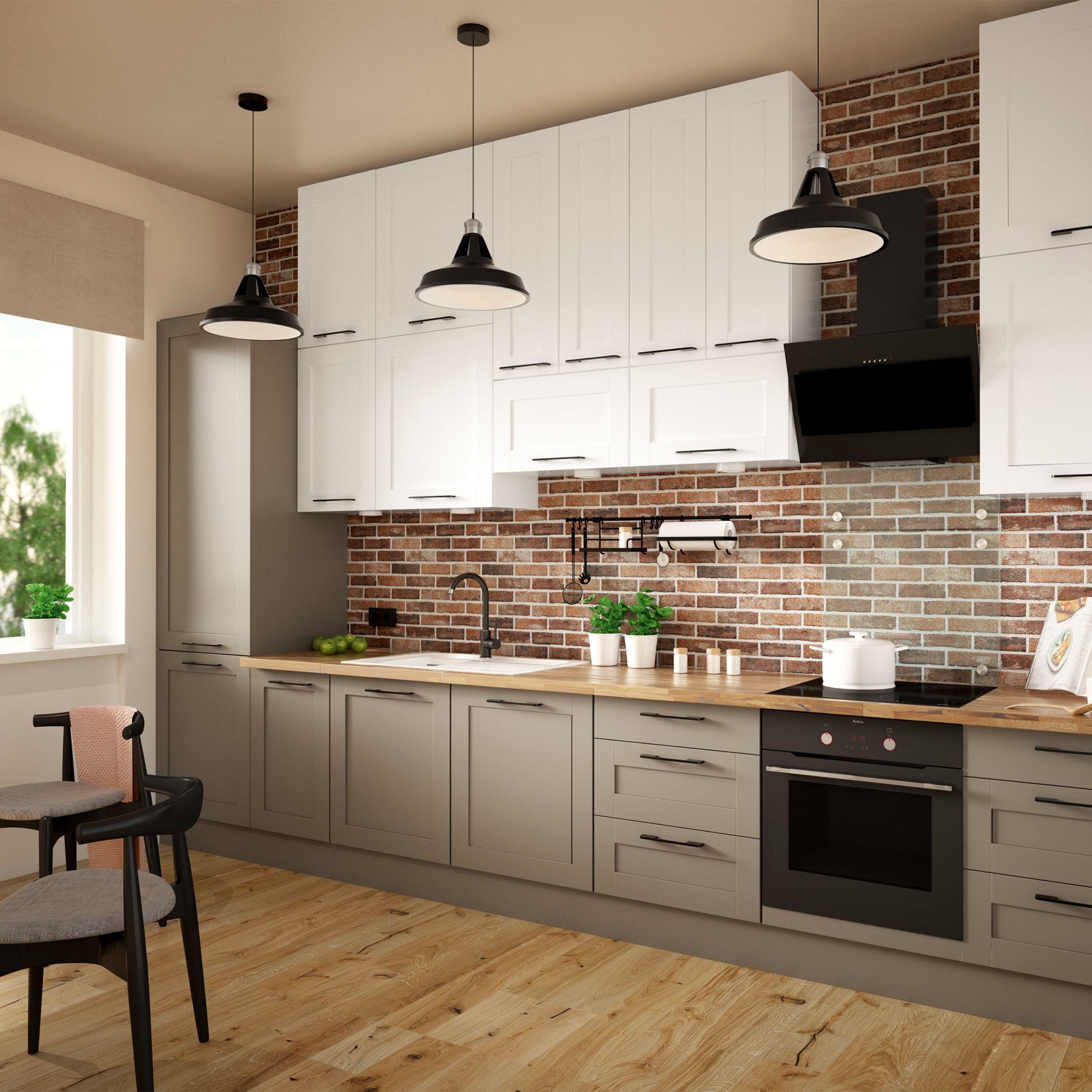 Leroymerlin Leroymerlinpolska Dlabohaterowdomu Domoweinspiracje Kuchnia Kitchen Bialakuchnia Frontykuchenne Biale Home Decor Kitchen Kitchen Cabinets