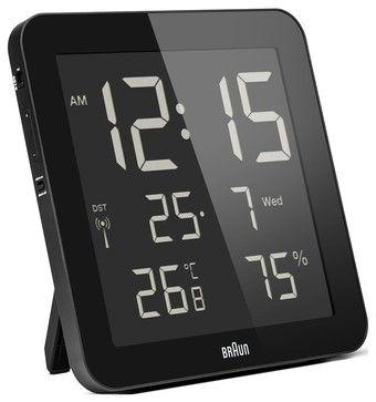 Clock modernwallclocks Contemporary Digital Alarm Clock