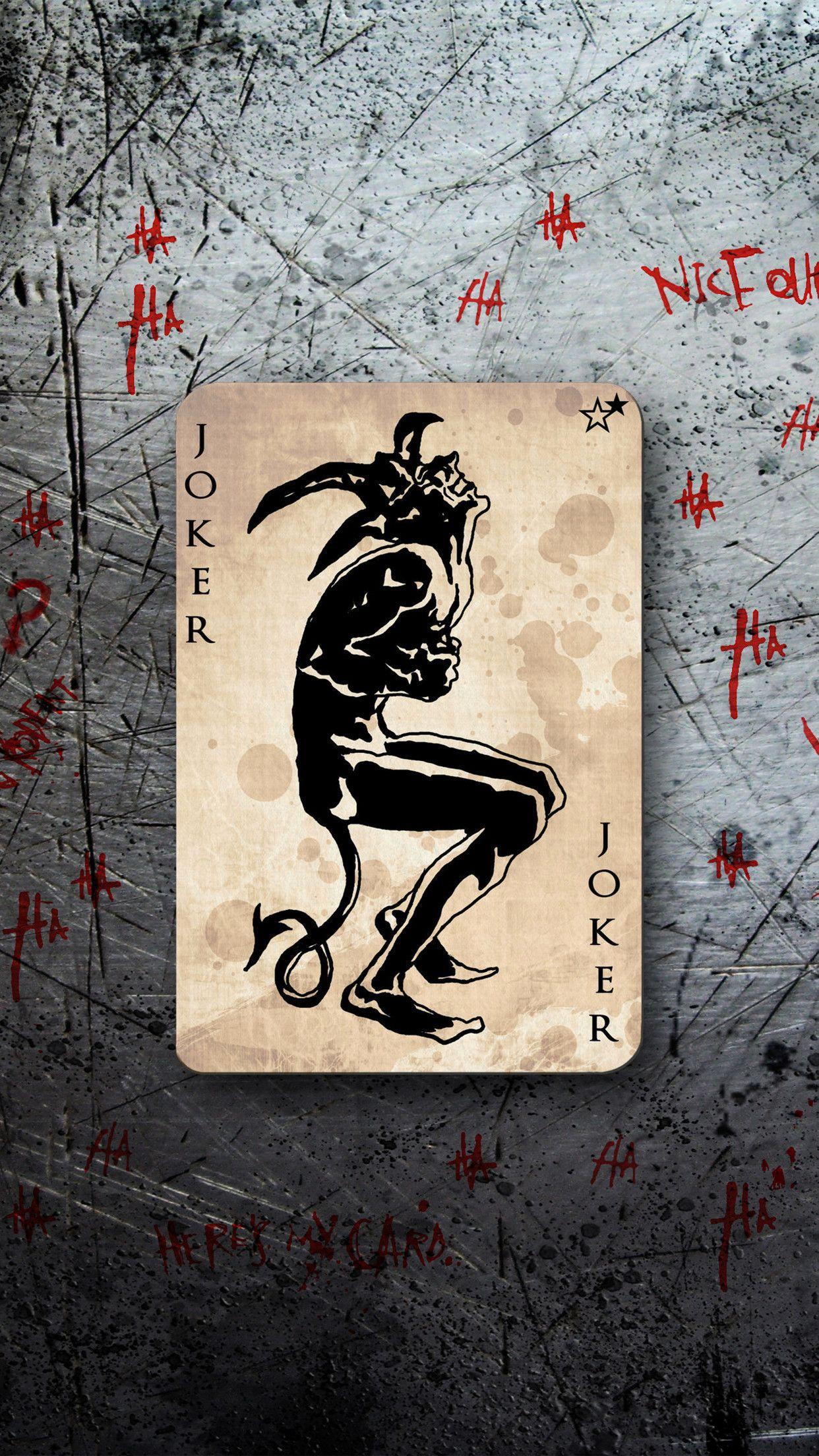 Iphone 6 Joker Wallpaper Joker Wallpapers Joker Card Joker Background