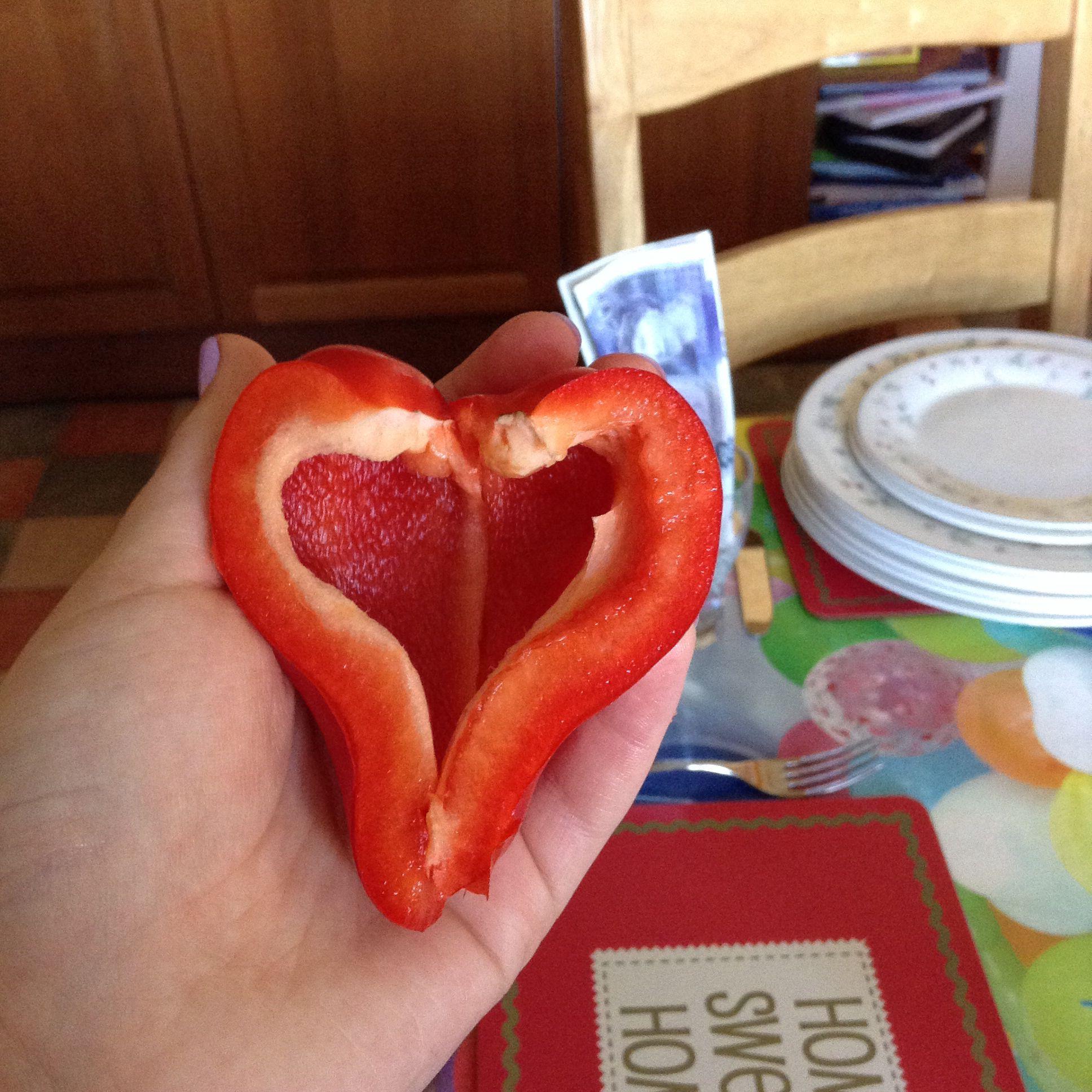 Pepper heart ❤️❤️
