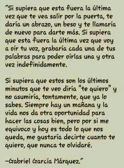 Grandes palabras de Gabriel García Márquez
