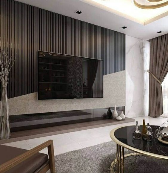 Wohndesign Skandinavien: USTOM DESIGN TV WALL TIPS FOR THE LIVING ROOM