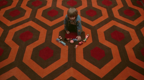 Still From Stanley Kubrick S The Shining Taken From The Blu Ray Release Of The Film Oddly The Scene Has Been Color Famous Movie Scenes Room 237 The Shining