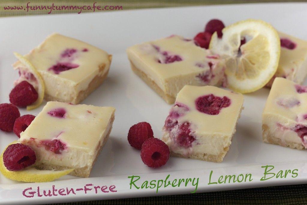Raspberry Lemon Cheesecake Bars » The Funny Tummy Cafe